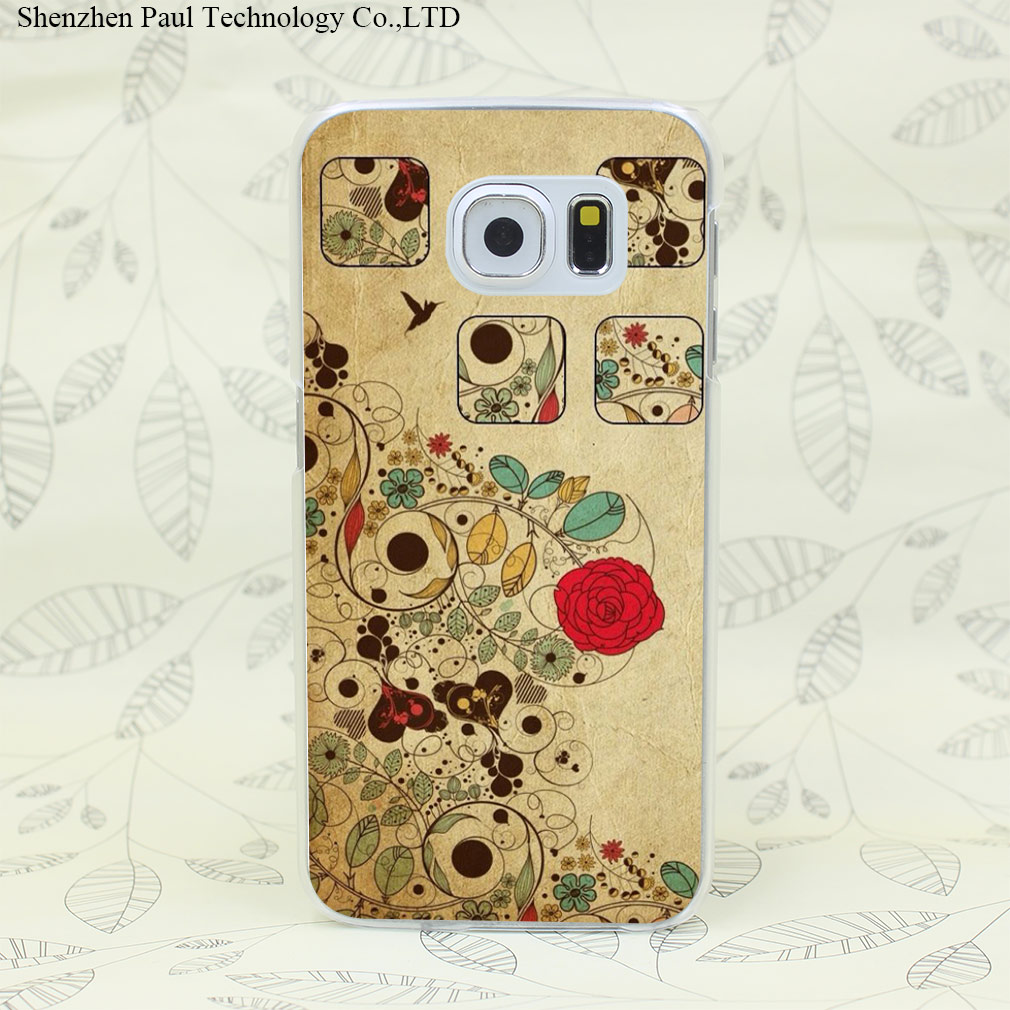 659W Duplicate Ancient Customs Hard Transparent Case Cover for Galaxy S2 S3 S4 S5 Mini S6 S7 edge(China (Mainland))
