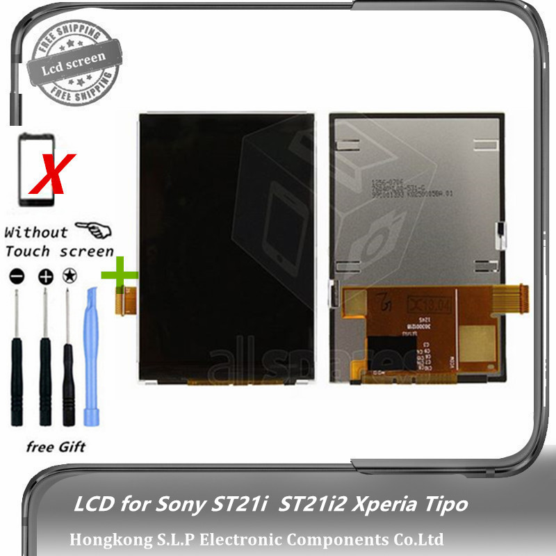 Original ST21i LCD for Sony ST21i Xperia Tipo, ST21i2 Xperia Tipo Cell Phone display screen (without touch panel) Free shipping(China (Mainland))