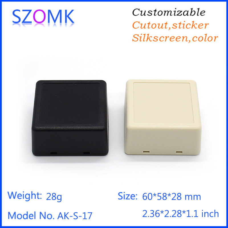 szomk small electronic case plastic housing (10 pcs) 60*58*28mm szomk small electronic case plastic housing diy plastic box<br><br>Aliexpress