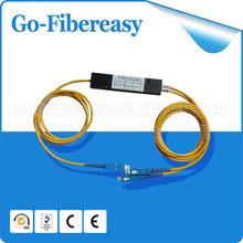 Buy FTTH 1x2 Optic Fiber Coupler PLC Splitter, Box Module, SC/UPC Connector 1.5meters for $59.99 in AliExpress store