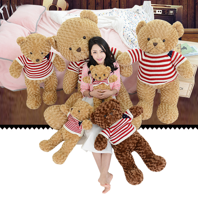 50CM Giant Teddy Bear Christmas Cute Cartoon Baby Toys Long Soft Toys Bear Plush Teddy Bear Stuffed Stuff Kid ChildrenGifts(China (Mainland))