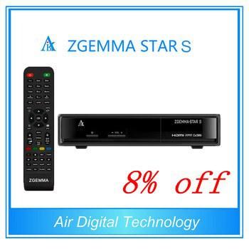 Zgemma Star S youtube tv box satellite receiver cloud ibox II+ upgrade hot selling(China (Mainland))
