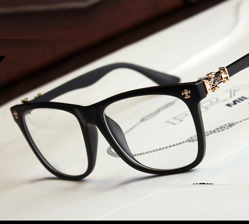 Large Frame Computer Glasses : Fashion 2015 Spectacle frames myopia big box mens computer ...