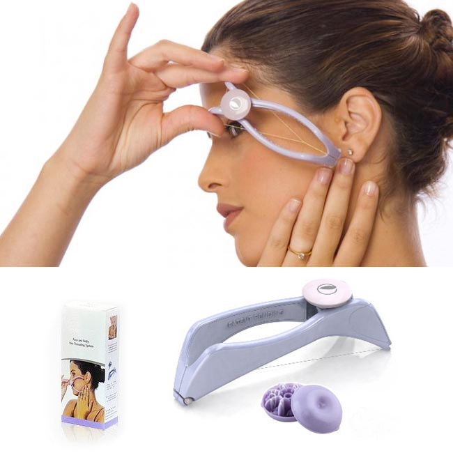 2014 Amazing Spa Body Face Hair Threading Removal Epilator System Beauty Tool Women Handle Hand Shaving - Children House store