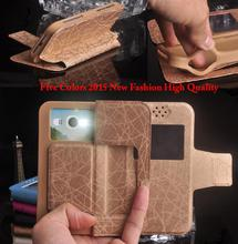 Micromax A210 Case, New Cool Luxury Flip PU Silicon Cover Phone Cases for Micromax Canvas 4 A210 Free Shipping