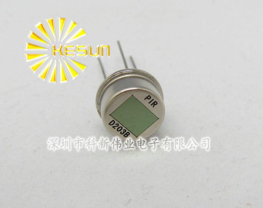 10PCS X 100% New PIR D203B TO-3 Pyroelectric body sensor / pyroelectric