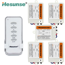 Y-F211A1N5 Hesunse Five Ways Digital RF Wireless Remote Control Switch 220V 5Ch Receivers And 1 Transmitter 110V 315mhz(China (Mainland))