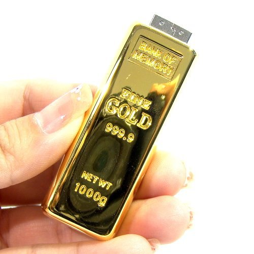 Luxury gold bar pen drive usb flash drive 4GB 8GB 16GB 32GB pendrive real capacity memory stick disk free shipping(China (Mainland))