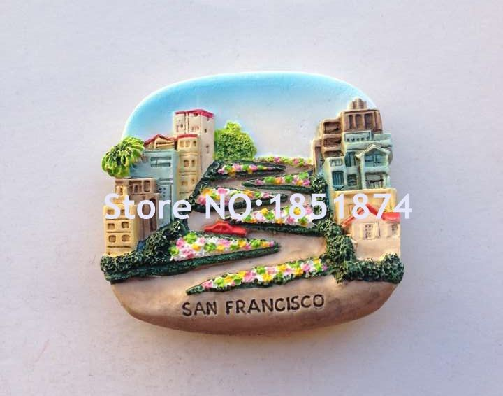 Vatican, Peru And Myanmar Thailand Chile Easter Island 3D Fridge Magnet World Souvenirs Refrigerator Magnetic Sticker