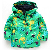 Hot Sale Boys and girls technical jacket  2 to 7 years old children's coat flower pattern multicolor technical jacket(China (Mainland))