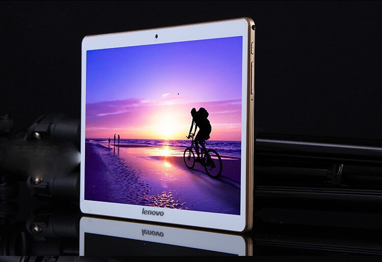 Free shipping Lenovo tablet pc 10 inch Android 4 4 Octa Cores IPS screen HD 32GB