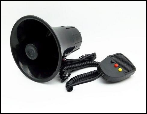 DC12V,3 tone 30W car/motorcycle warning siren amplifers alam speaker horn for police, fire and ambulance(China (Mainland))