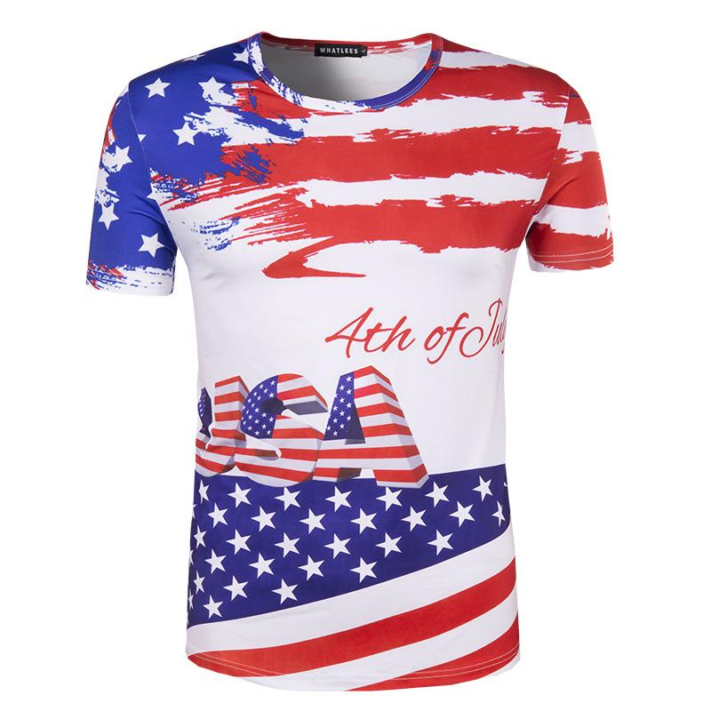 Tshirt american flag reviews online shopping tshirt for T shirt printing usa