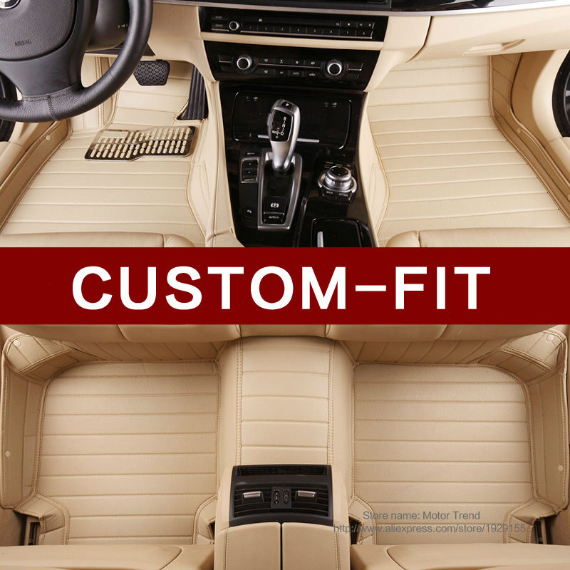 Custom make car floor mats special for Infiniti QX70 FX FX35 FX30D FX37 FX50 waterproof 3D car styling leather rug liners(2008-(China (Mainland))