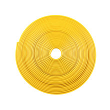 Yellow Car Vehicle Wheel Rim Protector Tire 8M Guard Line Rubber Moulding Heatproof Tuning Trend*car styling(China (Mainland))