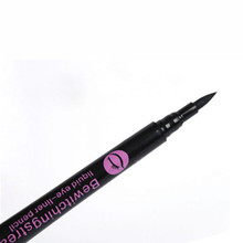 1Pcs New 2015 Waterproof Black Eyeliner Liquid Eye Liner Pencil Pen Makeup Comestics
