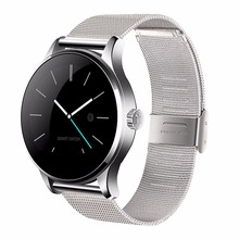 Buy K88H Smart Watch IOS Android Heart Rate Monitor Watch 1.22 Inch IPS Round Screen Bluetooth SmartWatch iphone 6 huawei xiaomi for $48.74 in AliExpress store
