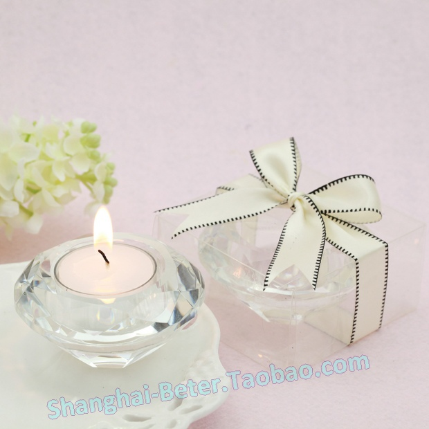 100pcs Diamond Crystal Candle Holder BETER-SJ001 Tea light candle not included(China (Mainland))