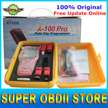 DHL Free Shipping X100 Pro Auto Key Programmer X 100 X-100 Auto Key Pro Reset ECU & Reset Immobilizer 3 Years Warranty(China (Mainland))
