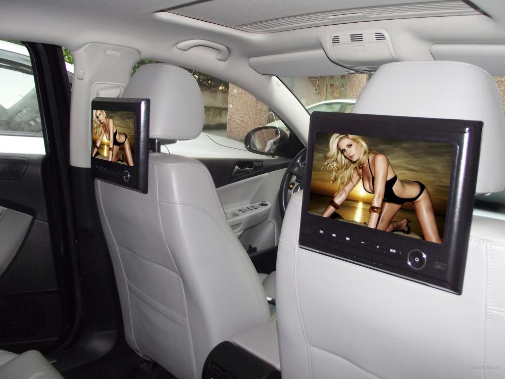 9 Inch Car headrest Tablet 720P video play/Game os radio dvd(China (Mainland))