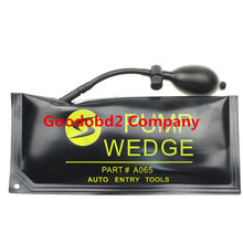 2015 venta caliente mejor grande KLOM bomba de la cuña herramientas de cerrajería cuña de aire Auto selección de la cerradura abrir la puerta de coche bloqueo tamaño grande 28 * 12 CM
