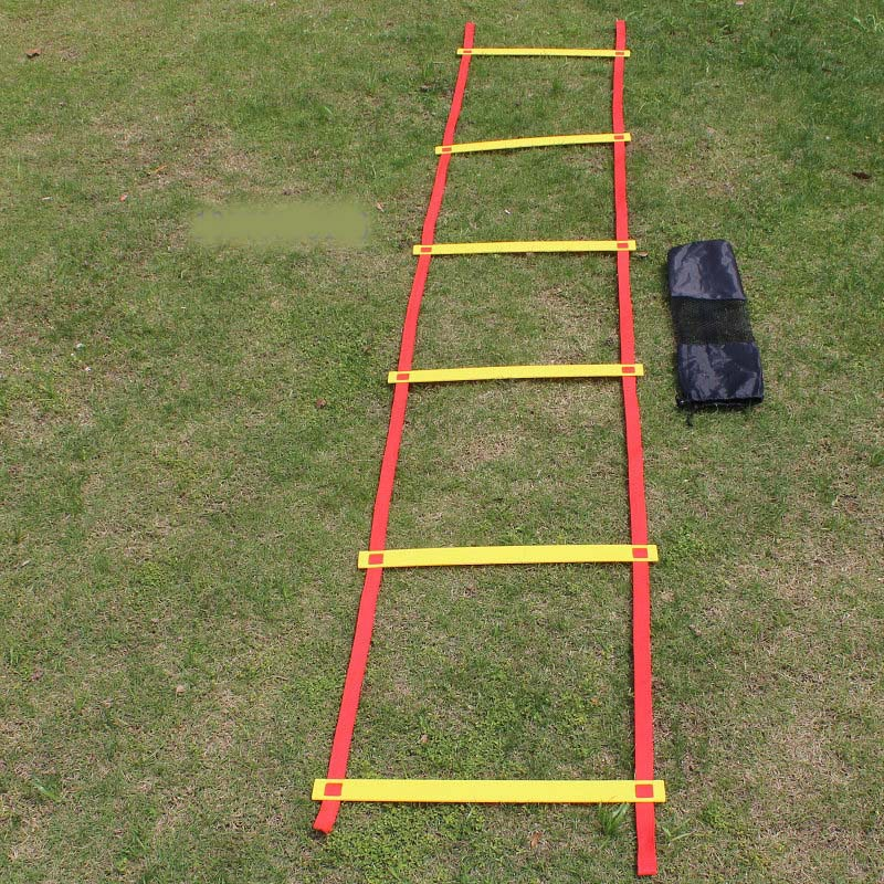 Free Shipping:22.5 FOOT Quick Flat Rung Agility Ladder Soccer Speed Training ladder(China (Mainland))