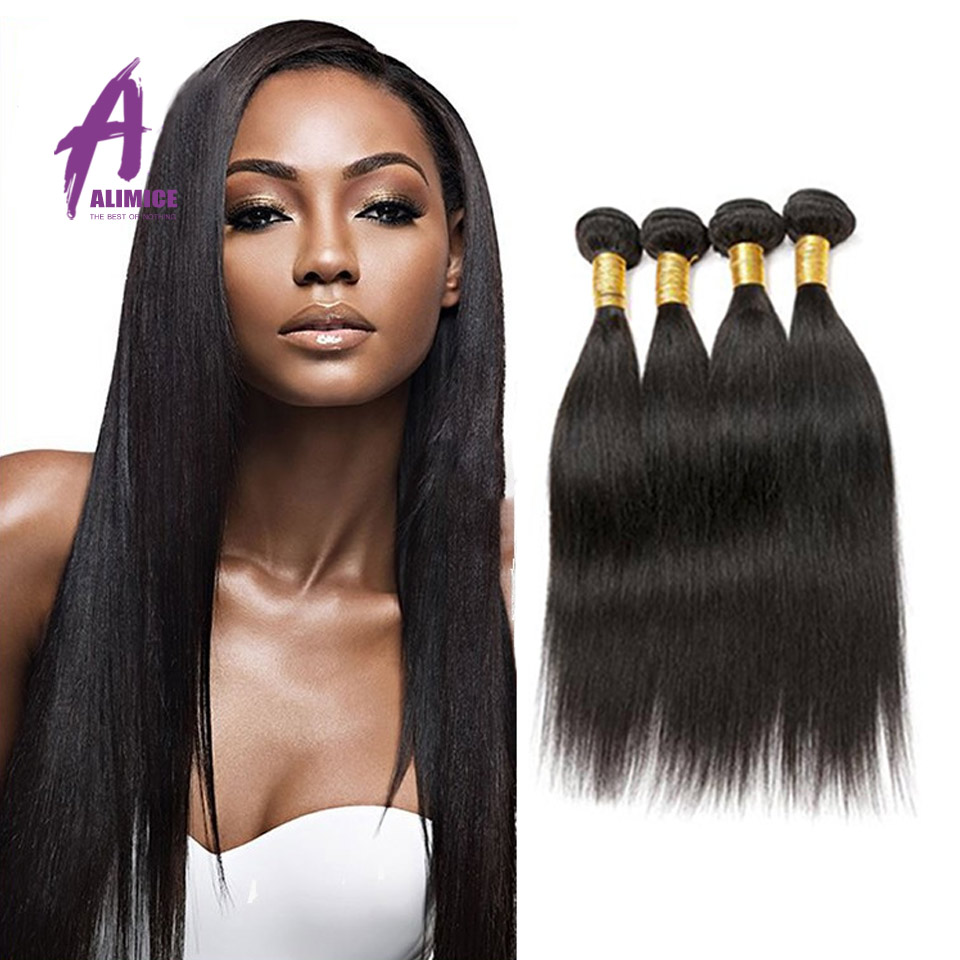 2015 On Sale 6A Indian Straight Hair 4Pcs/ Lot Indian Virgin Hair Straight 8-30 Remy Human Hair Weave Extensions<br><br>Aliexpress