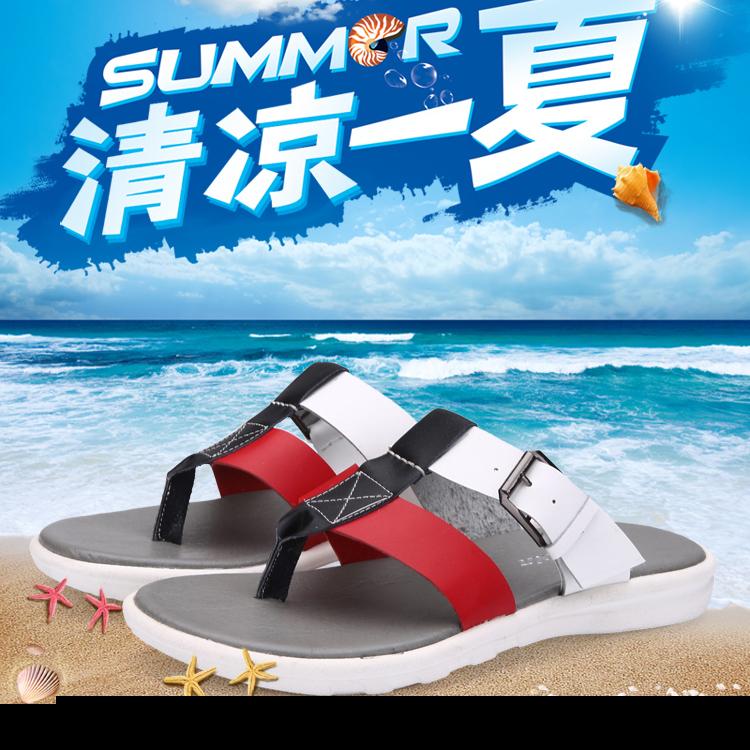Summer Sandals Men rubber beach robber sole men summer shoes beach Handmade soft Full Grain Leather men solid flip flops LX036(China (Mainland))