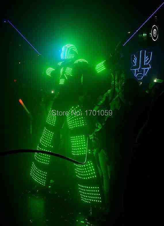 led robot costume  /LED Clothing/ LED Light suits/ LED Robot suits/ Luminous costumeОдежда и ак�е��уары<br><br><br>Aliexpress