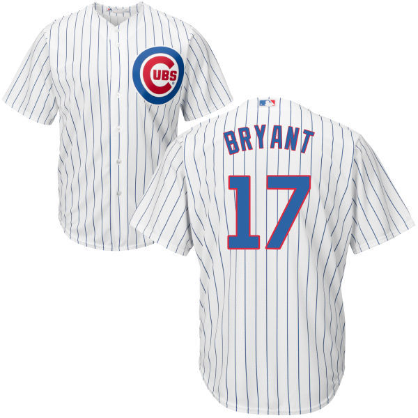 Kris Bryant Chicago Cubs Majestic 2016 MLB All-Star Cool Base Player Cubs Jersey - White Throwback Baseball Jerseys(China (Mainland))