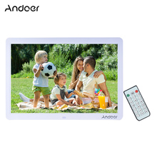 """Andoer 15"""" Wide Screen LED Digital Photo Frame 1280*800 Electronic Picture Photo Frame MP3 MP4 Movie Player with Remote Control(China (Mainland))"""