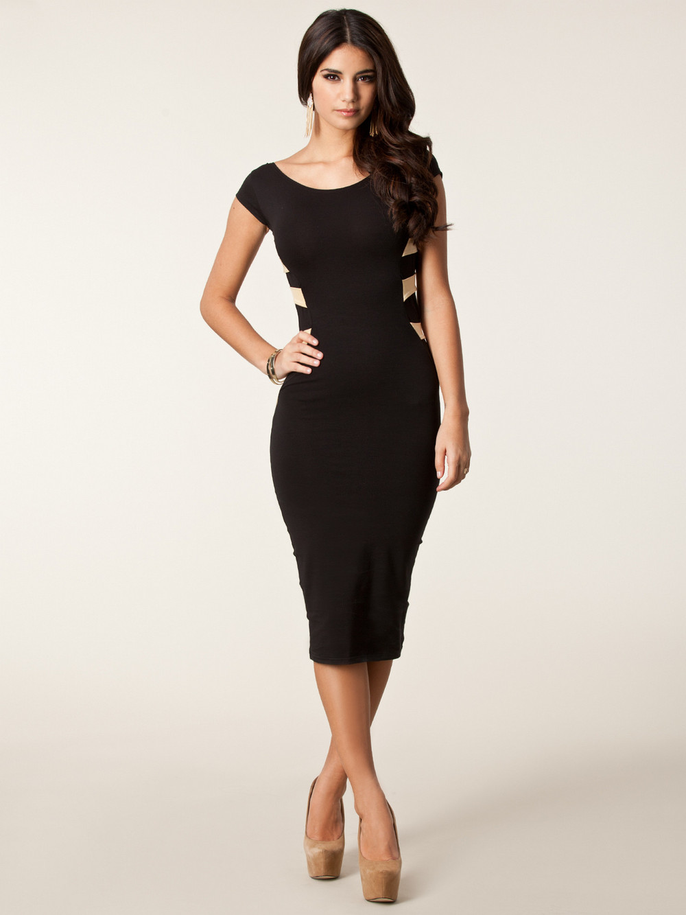 Collection Bodycon Knee Length Dress Pictures - Reikian