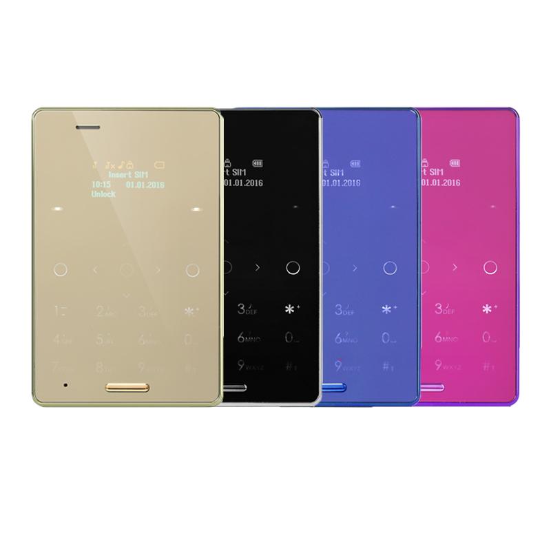 Original AIEK M4 Card Mobile Phone Ultra Thin Pocket Mini Phone Quad Band GSM Unlocked Dual SIM PK AIEK M3 M5 Children Phone(China (Mainland))