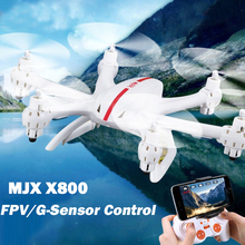 MJX X800 Quadcopter Drones With Camera HD Dron 2.4G RC Helicopter 6-axis Can Add C4002&C4005 FPV Quadrocoptepr