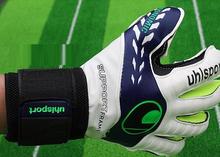 UhlSport Brand Goalkeeper Gloves 2015 new Soccer Goalie Soccer Professional luvas de goleiro guantes de arquero goalie gloves(China (Mainland))