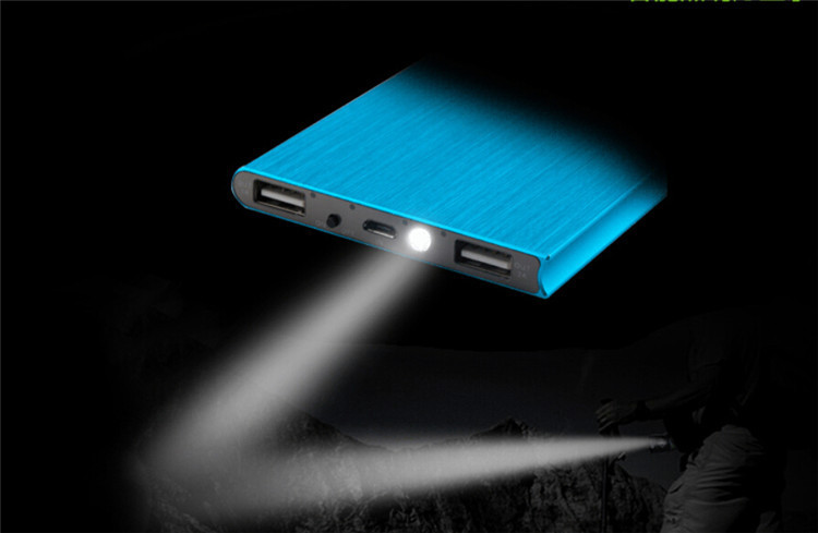 1pc Power Bank 12000mah Powerbank Portable Charger Mobile Phone Backup Powers External Battery Charger For Mobile Phone