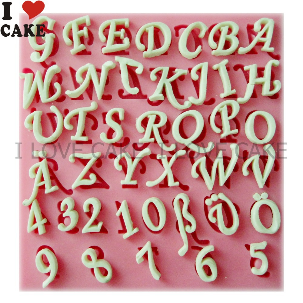 Aliexpress Buy 3D Letters And Numbers Chocolate