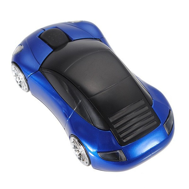 Car USB Optical 2.4Ghz Wireless Mouse Gaming Mice (5)