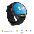 HOT Newest KW88 Android 5 1 OS 400 400 MTK6580 Smart watch Smartwatch with 2 0MP
