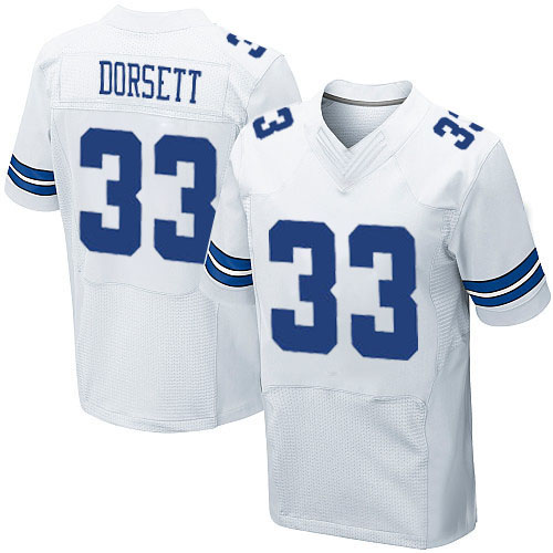 Men's #33 Tony Dorsett Elite White Football Jersey 100% stitched(China (Mainland))