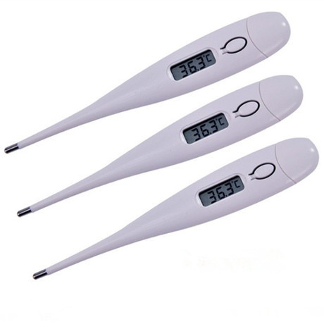 Digital LCD Heating Baby Thermometer Tools High Quality Kids Baby Child Adult Body Temperature Measurement Free