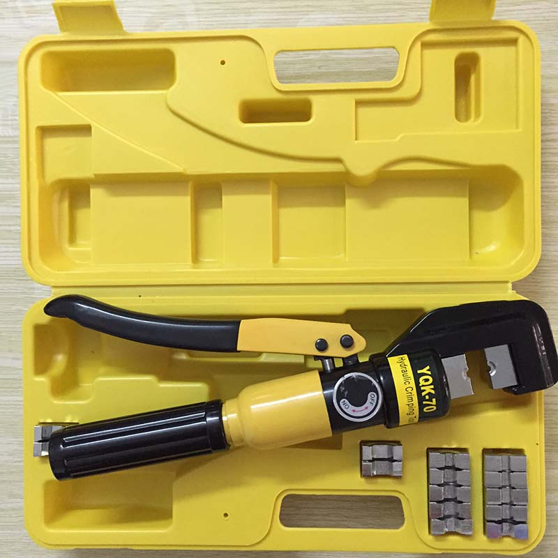 Hydraulic Crimping Tool Hydraulic Crimping Plier Hydraulic Compression Tool YQK-70 Range 4-70MM2 with good quality CP250(China (Mainland))