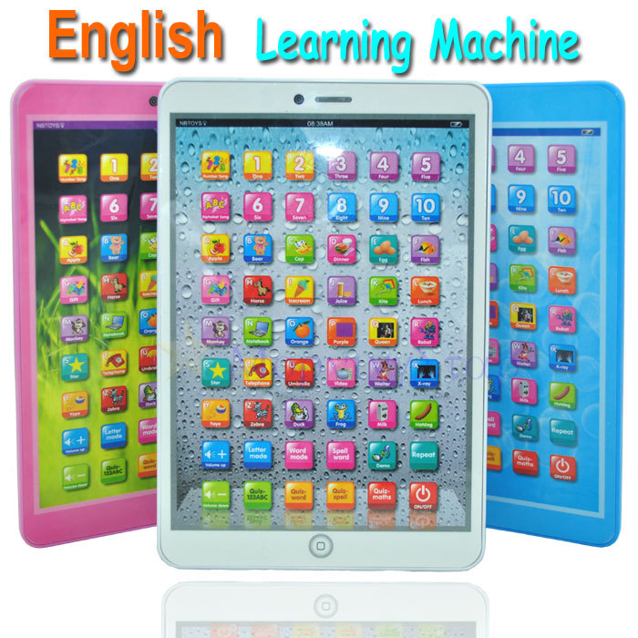 2013 New Arrival English Language Children Kids Learning Machine Computer Educational Toys Plenty of stock Next day shipping