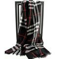 100 Wool 65X220CM Long Scottish Plaid Winter Scarf for Men Women 2016 Autumn Luxury Brand Designer
