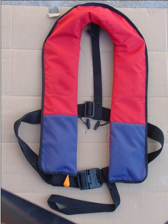 Manually Inflatable life jackets for 150N with CE certificated(China (Mainland))