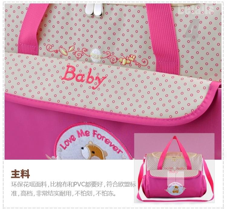 Дизайнер женщины одежда мешок пеленки мешок для мамы и младенцы изменение для беременных детские вещи сумки для вещей