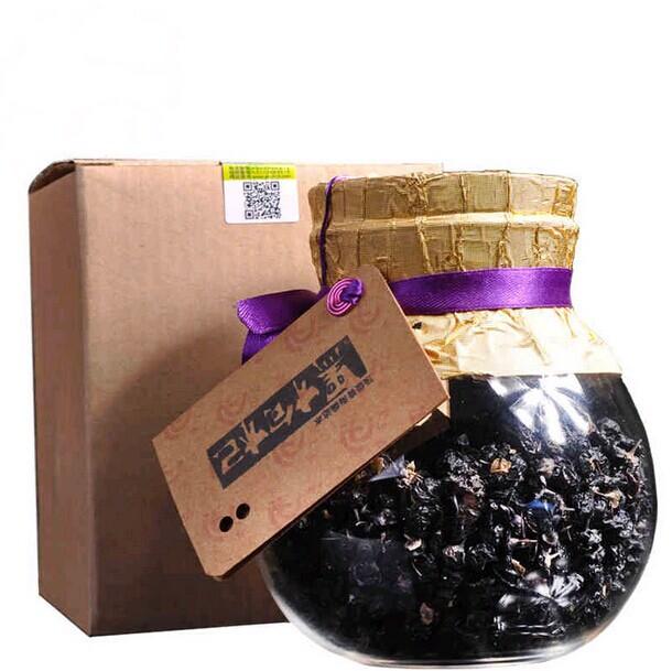 2014 new rushed best can (tinned) qaidam authentic wild black wolfberry gouqi berry pure goji berries loss weight green food(China (Mainland))