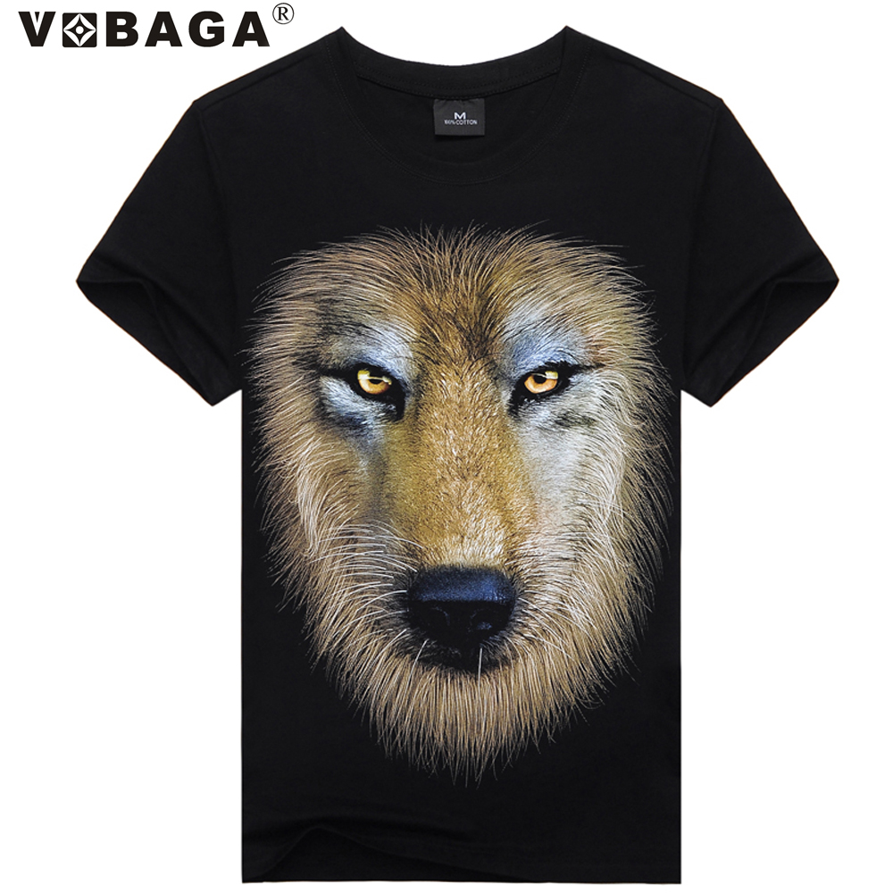 Hot sale t shirt brand clothing 3d t shirt animal Tiger Bear Wolf Rhino fashion print short sleeve T-shirt men, US Size M-XXXL(China (Mainland))
