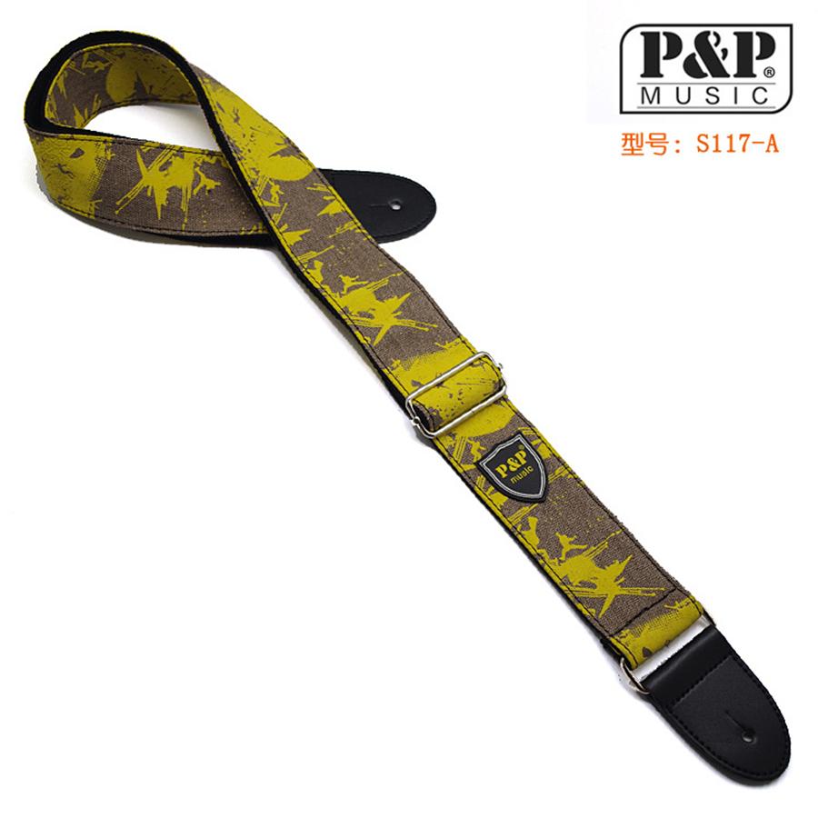 P&P Denim Pattern Cotton Classical Acoustic Guitar Strap For Classical Acoustic Folk Guitar Guitar Belt(China (Mainland))
