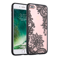 Sexy Retro Floral Phone Cases For Apple iPhone 7 6 6s 5 5s SE Plus Lace